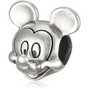 [パンドラ] PANDORA Disney, Mickey Portrait チャーム (シルバー) 正規輸入品 791586