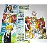 七つの大罪 カードしおり 3種 ポストカード イラストカード メリオダス 特典 限定 鈴木央