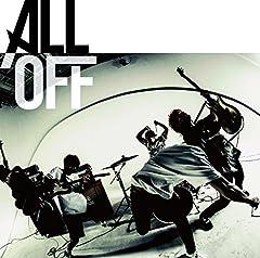 ALL OFF「Fly Away」の歌詞を収録したCDジャケット画像