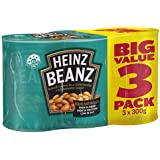 Heinz Baked Beans in Tomato Sauce, 3 x 300g