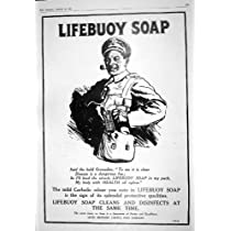 病院ローマをレントゲン撮影している 1916 年の広告 Lifebuoy の石鹸のレバーの兄弟