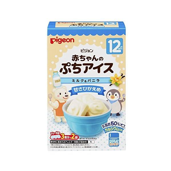 ピジョン 赤ちゃんのぷちアイス 3食分×2袋の紹介画像10