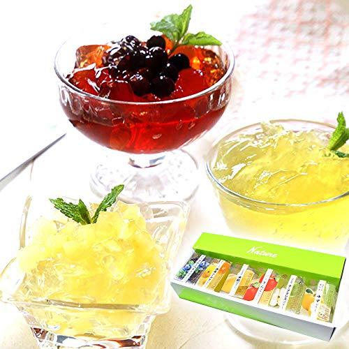 ゼリー 人気 四季の果物 6種のフルーツゼリー 詰め合わせ ギフト 湘南ゴールド スイーツ 国産 (通常ラッピング)
