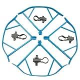 dodoomi 4pcs に対応 DJI Mavic Proプロペラガードセットツールキット 、クラッシュ保護プロペラガード ブレード保護カバー (ブルー)