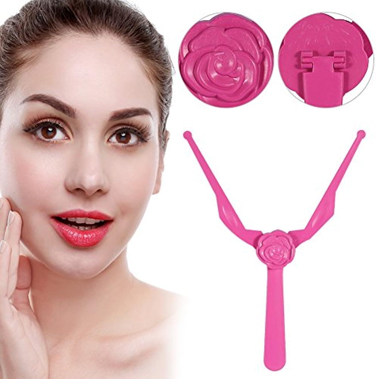 シルク最後に線眉毛メイクアップルーラー1恒久的な対称性測定眉毛測定ツール