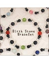 STONE WORLD パワーストーン 天然石 ブレスレット 4月誕生守護石