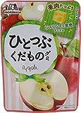 森永製菓 ひとつぶくだものグミ<アップル> 33g×10袋