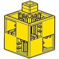 アーテック (Artec) アーテックブロック ブロック単品 基本四角 黄 24ピース 077741