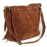 HERMES 財布 財布 優雅な楕円形フリンジハンドバッグショルダーバッグフリンジバッグボールパーティーShow (コーヒー)