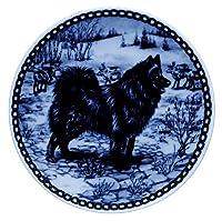 デンマーク製 ドッグ・プレート (犬の絵皿) 直輸入! Swedish Lapphund / スウェディッシュ・ラップフンド