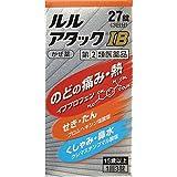 【指定第2類医薬品】MKM ルルアタックIB 27錠