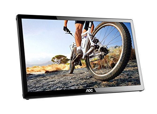"AOC E1759FWU 17.3"" Black LED di..."