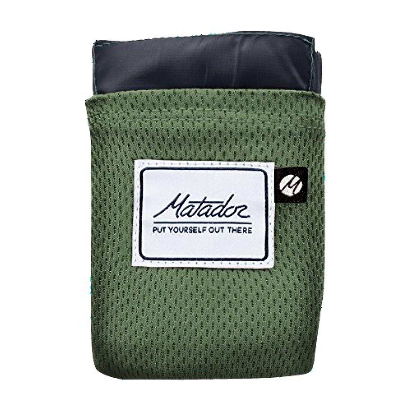 市町村太陽普通にMatador Pocket Blanket Version2 Alpine Green マタドール ポケットブランケット バージョン2 アルパイングリーン