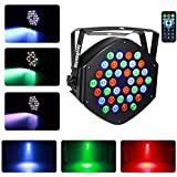 Stage Lighting Par Light 36 x 1W LED RGB 7 Channel with Remote for DJ KTV Disco Party Bar (1 PC)