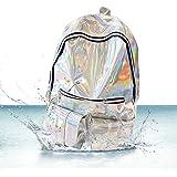 Hologram Backpack,Charminer Womens Bling Glitter Bags Laptop Bag School Backpack