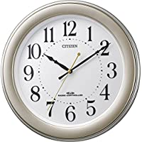 CITIZEN シチズン 掛け時計 電波時計 静音 ゴールド R509 8MY509-018
