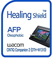 Healingshield スキンシール液晶保護フィルム Oleophobic AFP Clear Film for Wacom Tablet Cintiq Companion 2 DTH-W1310