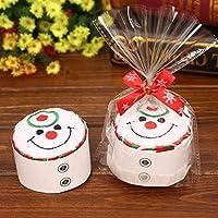 Danankan ホームキッズ子供のためのメリークリスマスギフトのカップケーキコットンタオルナタールノエル新年の装飾クリスマスの装飾 (色 : C)