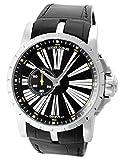 [ロジェデュブイ] ROGER DUBUIS 腕時計 エクスカリバー オートマティック 45mm RDDBEX0263 SS/レザー [中古品] [並行輸入品]