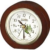 リズム時計 となりのトトロ 目覚し時計 R23 4REA23RH06