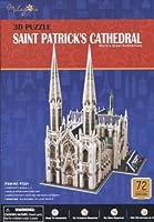 New Saint Stパトリックカテドラル3dパズルクリスチャンアーキテクチャーBuildingモデル