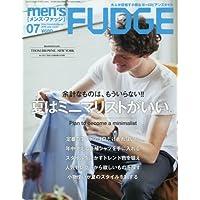men's FUDGE(メンズファッジ) 2016年 07 月号 [雑誌]
