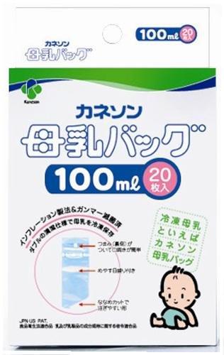 カネソン 母乳バッグ 100ml 20枚入