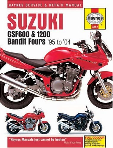 Suzuki Gsf600 & 1200 Bandit Fours '95 to '04 (Haynes Service and Repair Manual)