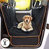 Dog Car Seat Cover, Luxury Full Protection for Cars and Trucks, Pet Car Blanket Hammock, Waterproof and Non-Slip, Easy to Clean