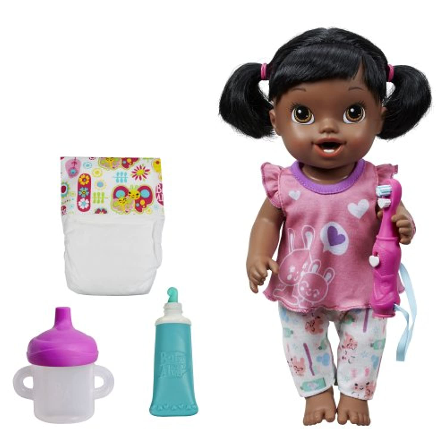 Baby Alive Brushy Brushy Baby Doll - African American by Baby Alive [並行輸入品]