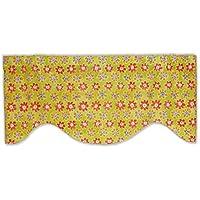 カラフルな花柄フラワー電源型の飾り布
