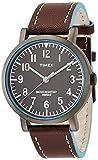 [タイメックス]TIMEX クラシックラウンド・ポップ グレーケース ダークブラウンストラップ T2P506 メンズ 【正規輸入品】