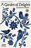 Geninne Zlatkis 2020 Poster Art Calendar: A Garden of Delights 10.75 X 16