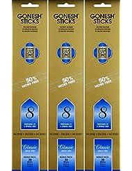 Gonesh #8 Bonus Pack 30 sticks ガーネッシュ#8 ボーナスパック30本入 3個組 90本