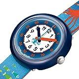 [スウォッチ] 腕時計 フリック フラック FPNP086 ボーイズ ブルー