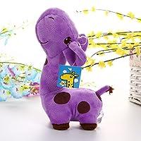 Fashionwu ぬいぐるみ キリン 動物 クッション 抱き枕 ふわふわ かわいい 贈り物 インテリア おもちゃ