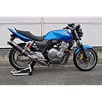 【WR'S ダブルアールズ】カーボンサイレンサーフルエキゾーストタイプ「HONDA CB400SF H-V REVO/SB/ABS 2008~2009」