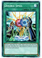 Yu-Gi-Oh! - Double Spell (YGLD-ENB23) - Yugi's Legendary Decks - 1st Edition - Common