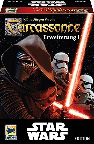 カルカソンヌ:スターウォーズ 拡張セット1 Carcassonne: Star Wars Erweiterung 1 [並行輸入品]