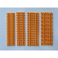 プラモブロック 基本4種アソートセット オレンジ OR