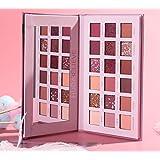 Eye Shadow18色のアイシャドーマット多色セットアイメーク舞台スパンコール色メイクファンデーション (砂漠のバラ)