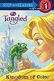 Kingdom of Color (Disney Tangled) (Step into Reading)