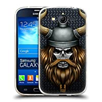Head Case Designs バイキング スカル・ウォリアーズ ソフトジェルケース Samsung Galaxy Grand Neo