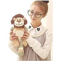 ライオン ぬいぐるみ 抱き人形 ぬいぐるみ 猛獣 大きい おもちゃ (45CM)
