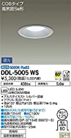 大光電機(DAIKO) LEDダウンライト(軒下兼用) (LED内蔵) LED 5.6W 昼白色 5000K DDL-5005WS