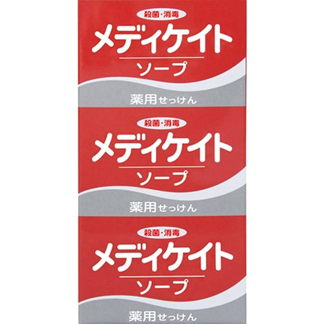 必要ない遠え反応する薬用メディケイトソープ 100g×3個入 [医薬部外品]
