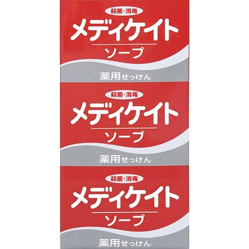 薬用メディケイトソープ 100g×3個入 [医薬部外品]