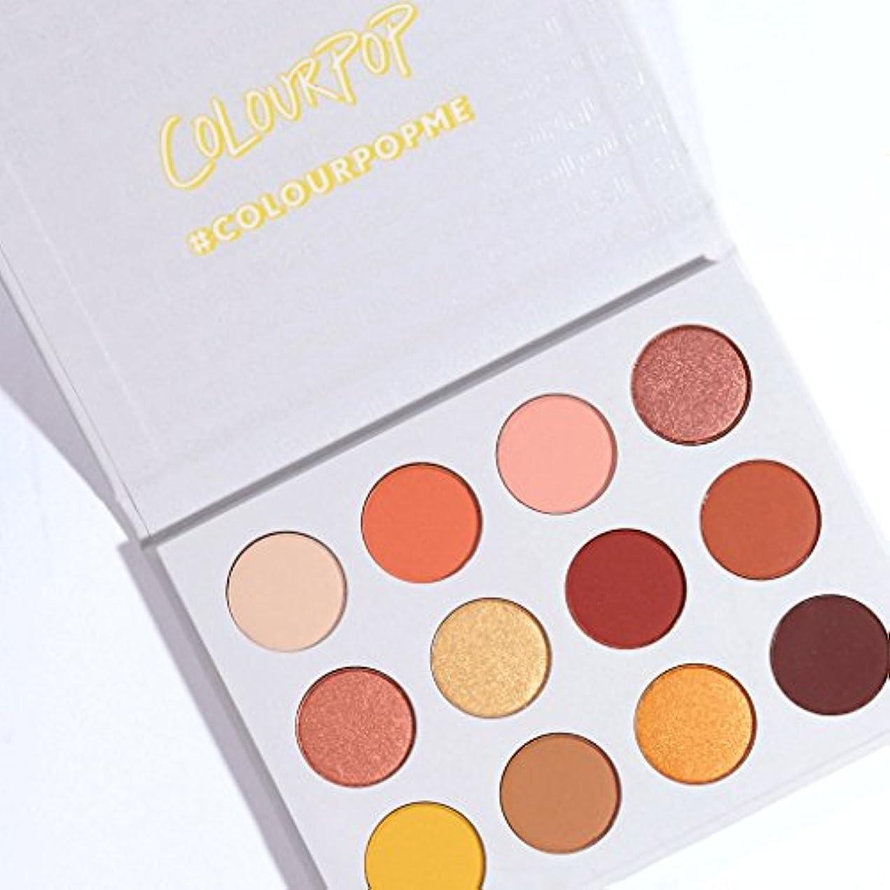 誤ってけがをするナサニエル区ColourPop - Pressed Powder Shadow Palette - Yes, Please!