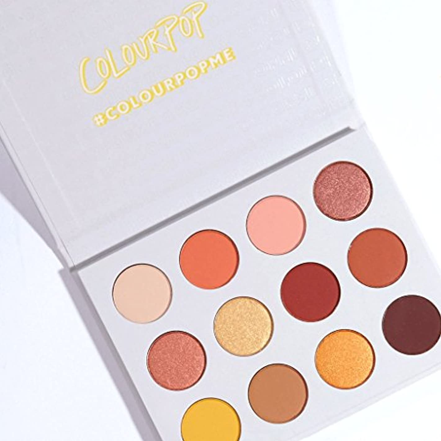 緯度引き金勝者ColourPop - Pressed Powder Shadow Palette - Yes, Please!