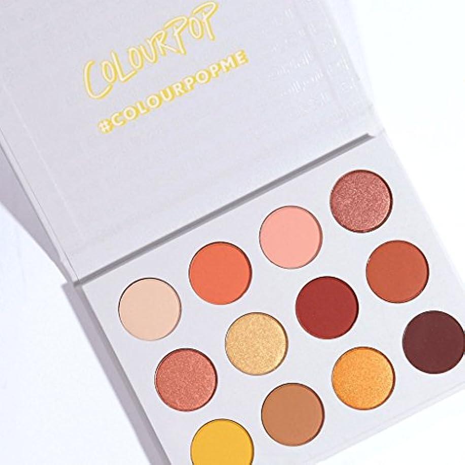 セラー飾り羽前任者ColourPop - Pressed Powder Shadow Palette - Yes, Please!
